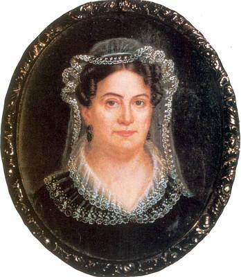Catherine Jackson Painting - Rachel Jackson, Wife Of Andrew Jackson by Science Source
