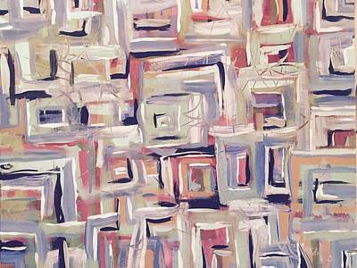 Mental Painting - Racing Thoughts - Highs And Lows by Edward Paul