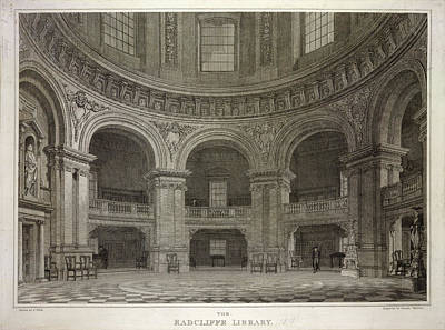 Radcliffe Library Print by British Library