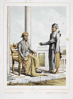 Aristocrat Photograph - Raden Adipati Of Madura by British Library