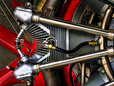 Radial Engine Print by Dale Jackson