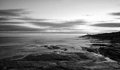 Radiance Of Its Light Black And White Print by Lourry Legarde