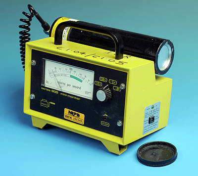 Electronics Photograph - Radiation Detector by Public Health England