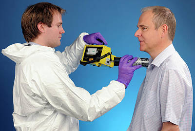 Monitoring Photograph - Radiation Exposure Monitoring by Public Health England