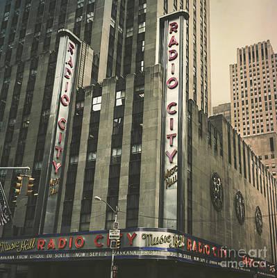 Radio City Hall Print by Andrew Paranavitana