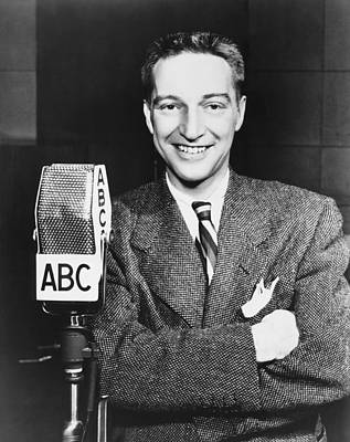 Radio Host Garry Moore Print by Underwood Archives