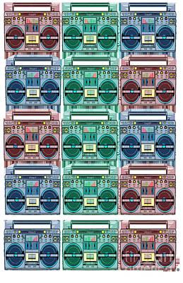 Stanley Slaughter Digital Art - Radio Suckas Never Play Me by Sol Sketches
