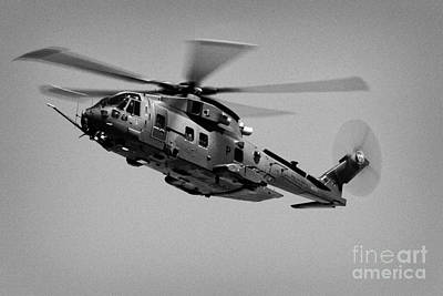 Raf Photograph - Raf Merlin Hc3 Riat  by Joe Fox