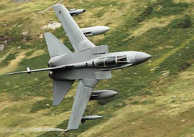 Fighters Digital Art - Raf Tornado - Low Level by Pat Speirs