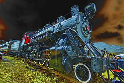 Rail On Print by Dale Stillman