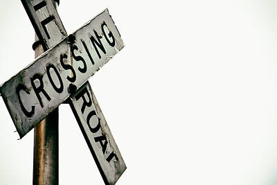 Railroad Crossing Print by Karol Livote