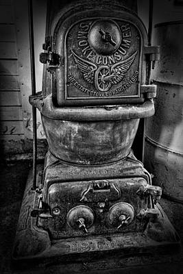 Brakeman Photograph - Railroad Smoke Consumer Stove by Daniel Hagerman