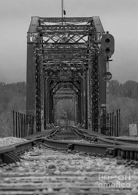 Railroad Trestle Print by Rick McKee