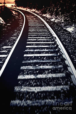 Book Jacket Photograph - Railtrack by Craig B