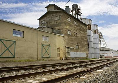 Railway Mill Print by Sonya Lang