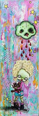 Rain Brain Print by Lizzy Love