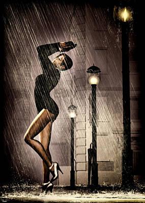 Rain Dance Print by Bob Orsillo