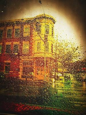 Manipulation Photograph - Rain Out by Eddie G