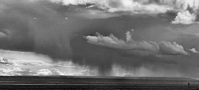 Photograph - Rain Storm In Wyoming by Ron Roberts