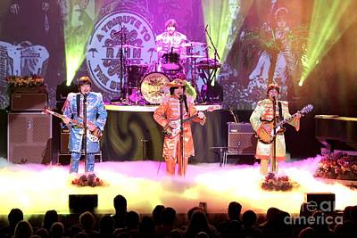 Beatles Photograph - Rain  The Beatles Tribute Band by Front Row  Photographs