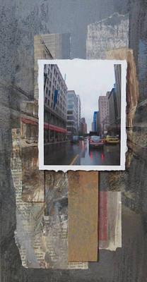 Rain Wisconcin Ave Tall View Original by Anita Burgermeister