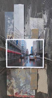 Rain Wisconsin Ave Wide View Original by Anita Burgermeister