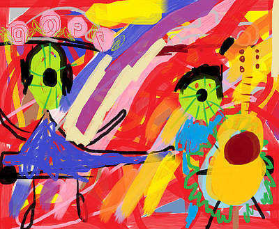 Rainbow  Print by Anita Dale Livaditis
