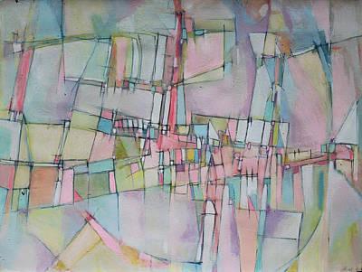 Rainbow Avenue Print by Hari Thomas
