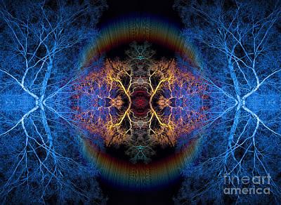 Mandala Photograph - Rainbow Bridge by Tim Gainey