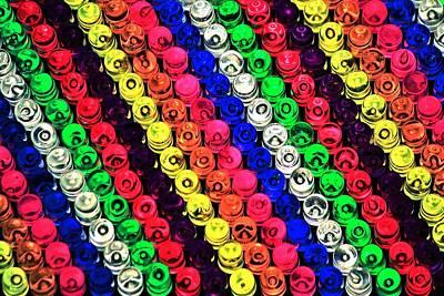 Brite Photograph - Rainbow Brite by Benjamin Yeager