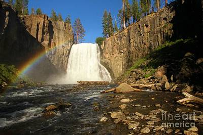 Devils Postpile Photograph - Rainbow Falls Creek by Adam Jewell