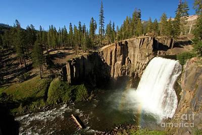 Devils Postpile Photograph - Rainbow Falls Spring by Adam Jewell