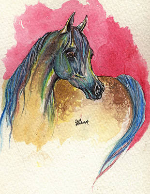 Rainbow Horse 2013 11 17 Original by Angel  Tarantella
