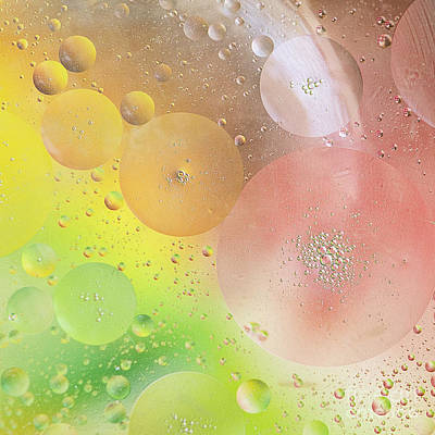 Emulsion Photograph - Bubbles by Ivy Ho