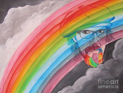 Aerosmith Painting - Rainbow Man Mark Hudson by Jeepee Aero