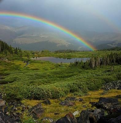 Rainbow Paradise Original by Cody Schmid