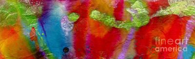 Rainbow Passion Print by Angela L Walker