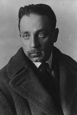 Rainer Maria Rilke Print by German Photographer