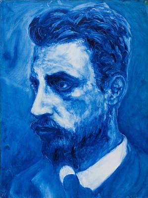 Self Discovery Painting - Rainer Maria Rilke by Sviatoslav Alexakhin