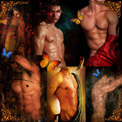Gay Art Digital Art - Raining Man by Mark Ashkenazi
