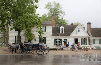 Rainy Day Photograph - Rainy Day On Duke Of Gloucester by Teresa Mucha