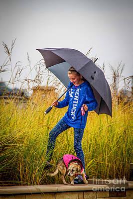 Owensboro Kentucky Photograph - Rainy Day by Warrena J Barnerd