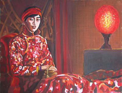 Raise The Red Lantern Original by Karen Coggeshall