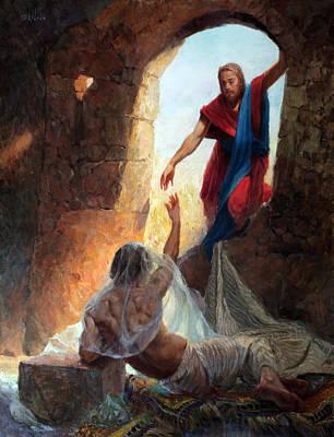 Raising Lazarus Original by Eric Wallis