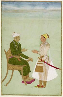 Personalities Photograph - Raja Jai Singh Of Amber by British Library