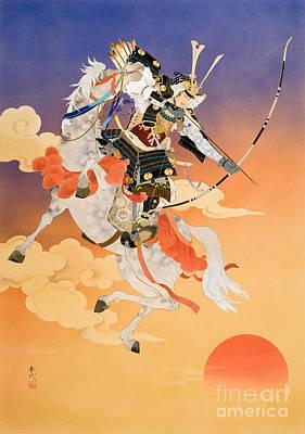 Rakujitsu Print by Haruyo Morita