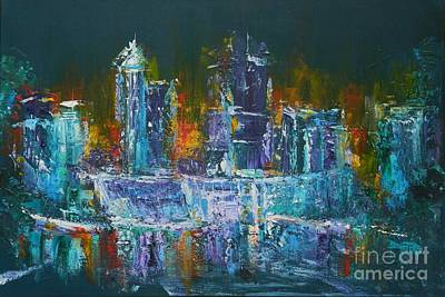 Raleigh Nights Original by Dan Campbell