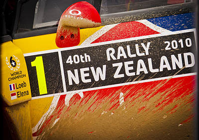 Rally New Zealand Print by motography aka Phil Clark