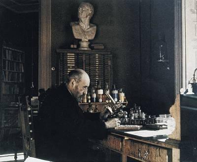 Cajal Photograph - Ramon Y Cajalsantiago 1852-1934 by Everett