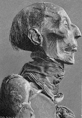 Ramses II Mummy Print by Bildagentur-online/tschanz